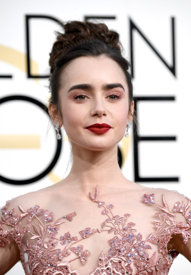 Lily Collins (Foto: Getty/Frazer Harrison)