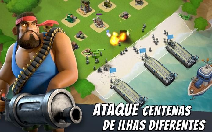 Novo jogo de estratégia da criadora de Clash of Clans (Foto: Divulgação)
