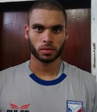 Flaysmar é o principal destaque do Guaratinguetá na Série A3 (Foto: Antônio Boaventura/Guaratinguetá Futebol Ltda.)