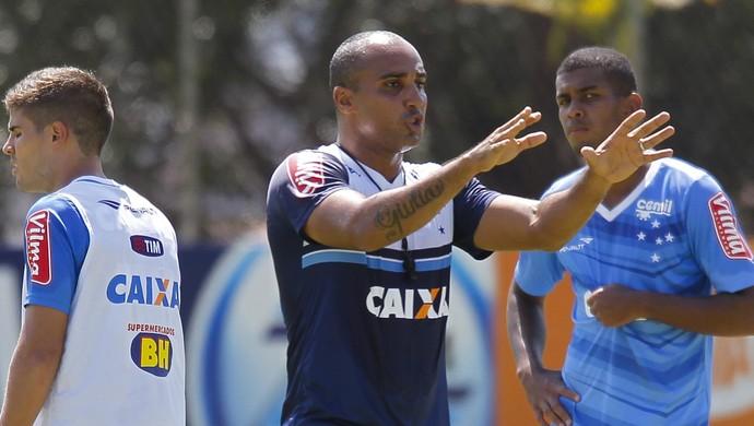 Deivid; Cruzeiro (Foto: Washington Alves / Light Press)