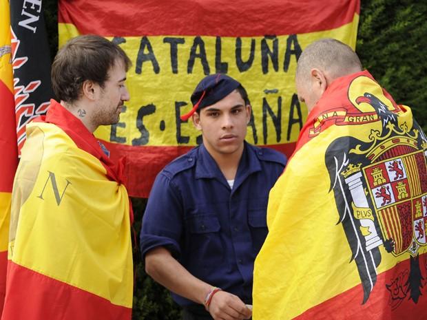 Eleição na Catalunha  (Foto: PEDRO ARMESTRE / AFP)