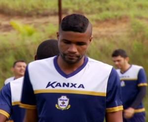 robinho, zagueiro do macaé (Foto: Reprodução)