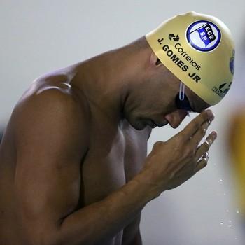 João Gomes Júnior Torneio Open natação (Foto: Satiro Sodré / SSPress)