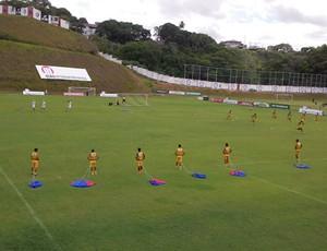 vitória treino (Foto: Eric Luis Carvalho)