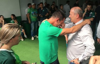 """CBF quer jogo contra Atlético-MG, mas Nivaldo diz: """"Não sei se vou ter forças"""""""