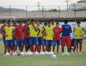 Potyguar CN treina firme para fazer bonito no Estadual 2013 (Foto: Josivan Varela/Divulgação)