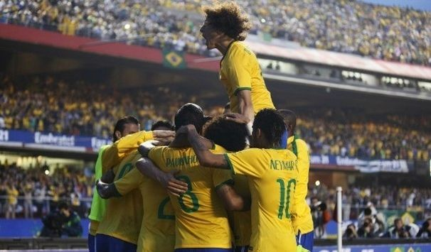 Seleção Brasileira entra em campo hoje, para abertura da Copa (Foto: Wander Roberto/VIPCOMM)
