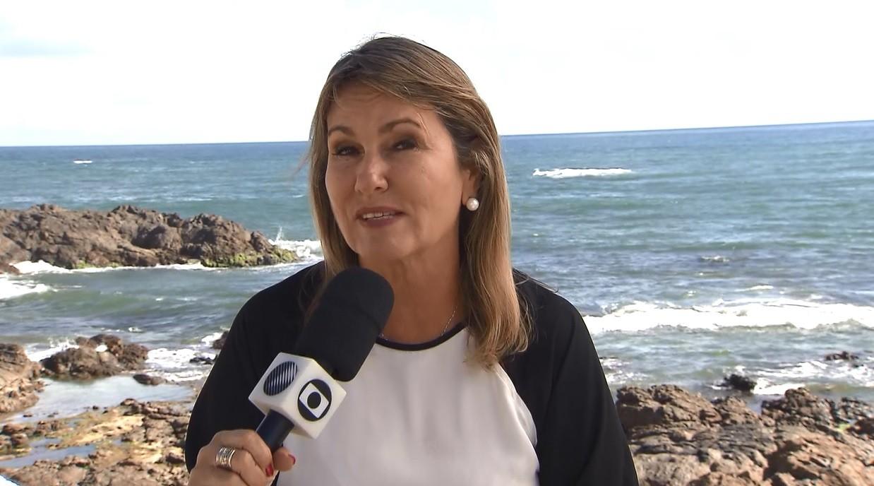 A repórter Anna Valéria vai mostrar as belezas de Praia do Forte (Foto: divulgação)