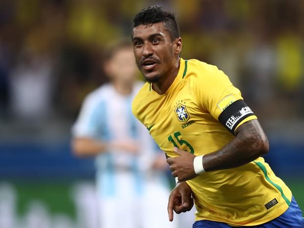 Paulinho com a Seleção Brasileira (Foto: getty images)