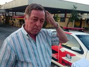Geraldo César, pai de Fernanda (Foto: Ana Carolina Levorato / G1)