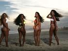 Confira a beleza das meninas que brilham no 'Esquenta!' aos domingos