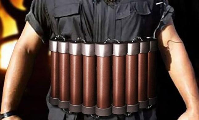 Homem-bomba (Foto: Arquivo Google)