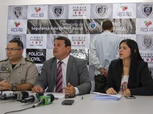 Suspeito de matar empresária foi apresentado pela Polícia Civil