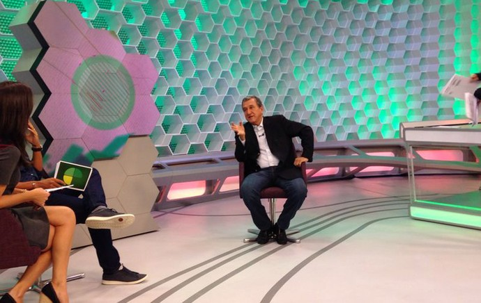 Parreira esporte espetacular (Foto: Tv Globo)