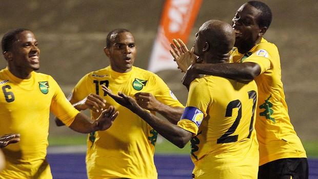 Luton Shelton, Jamaica x Estados Unidos (Foto: Agência Reuters)