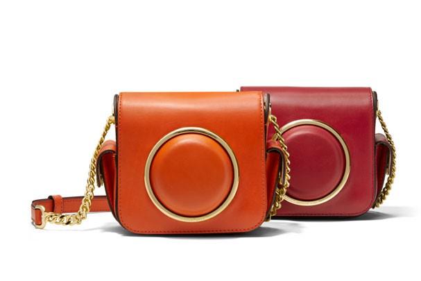 Bolsas de mão da Michael Kors com Fujifilm (Foto: Divulgação)