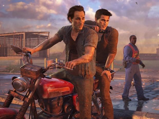 'Uncharted 4: A Thief's End' promete contar o fim da história do ladrão Nathan Drake, herói da série (Foto: Divulgação/Sony)
