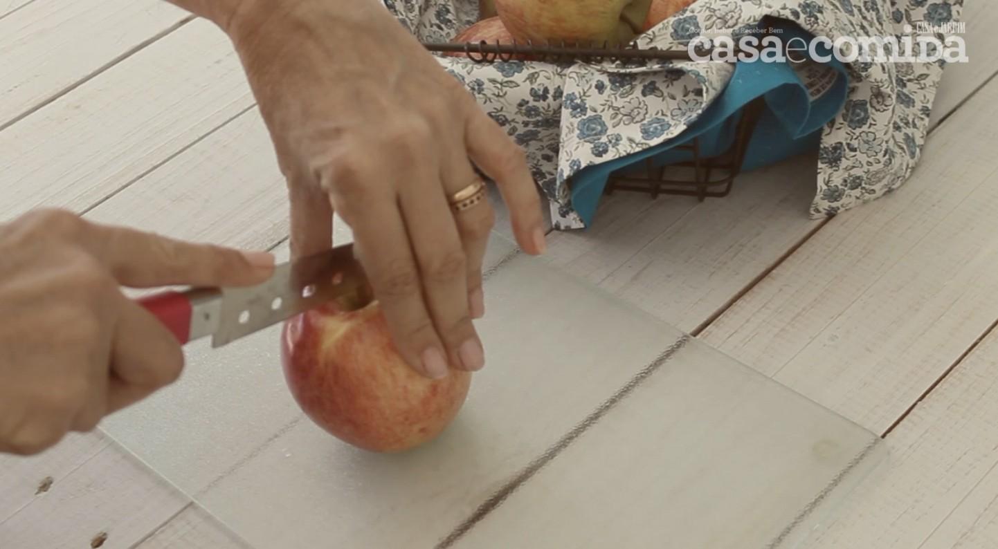 Drops #4: Como manter a maçã clarinha depois de cortada (Foto:  )