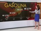 Preço da gasolina nos postos sobe pela terceira semana consecutiva