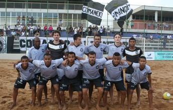 Rio Branco inicia qualifying no futebol de areia contra o Brasil de Pelotas-RS
