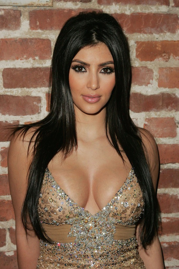 Kim Kardashian em 2007, aos 27 anos (Foto: Getty Images)