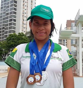 Rebeca Campos, paratleta acreana (Foto: Geison Moraies/arquivo pessoal)