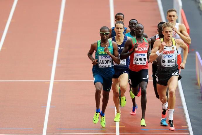 Thiago André Mundial de Londres (Foto: Getty Images)
