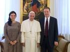Papa nomeia jornalista americano como novo porta-voz