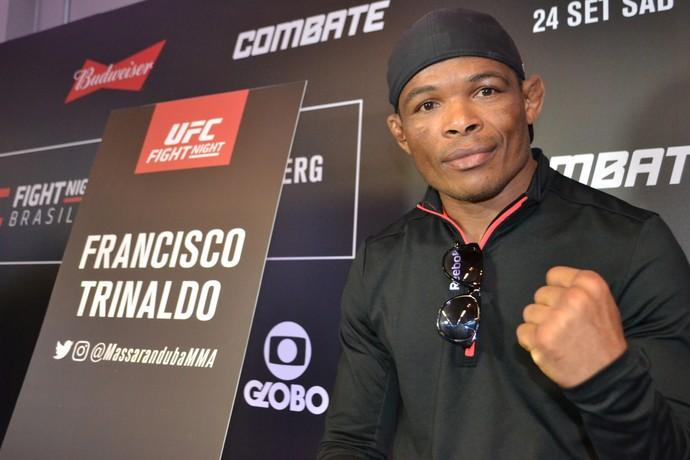 Francisco Massaranduba UFC Brasília (Foto: Raphael Marinho)