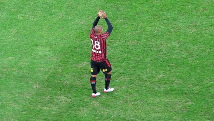Atacante Walter Atlético-PR (Foto: Fernando Freire)