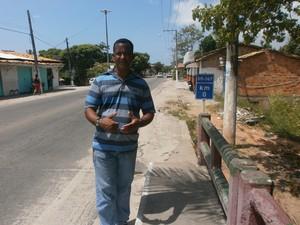 Secretario Cabralia (Foto: Marina Pereira/G1)