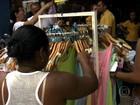 Liquidações movimentam o comércio de rua depois do Natal