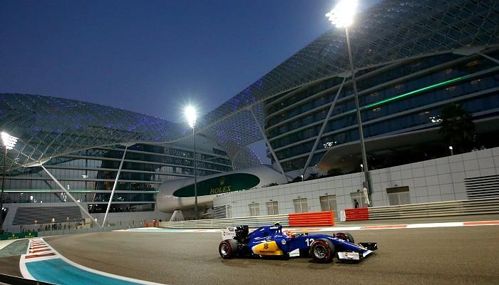 Felipe Nasr GP de Abu Dhabi
