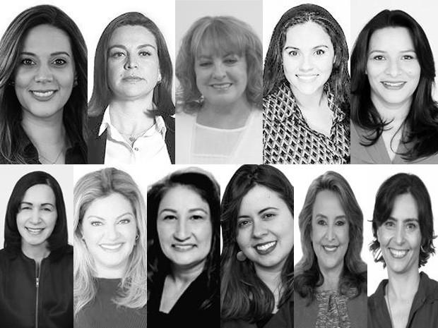 Em 2017, 11 mulheres ocuparão as 55 vagas disputadas nas eleições deste domingo (2) (Foto: Divulgação/TSE)