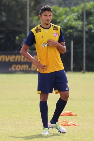 Yuri - Audax (Foto: Rodrigo Alves/Divulgação Audax)