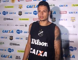 Rafinha, atacante do ABC (Foto: Klênyo Galvão/GloboEsporte.com)