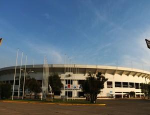 Estádio Nacional, em Santiago (Foto: Diego Guichard)