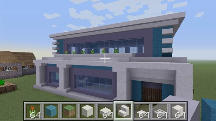 Confira um tutorial de como fazer casas bonitas e de luxo em Minecraft (Foto: Reprodução/Rafael Monteiro)