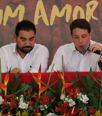 ivã de almeida; vitória (Foto: Maurícia da Matta / EC Vitória / Divulgação)