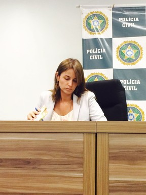 Delegada Ellen Souto (Foto: Juliana Maselli/ EGO)