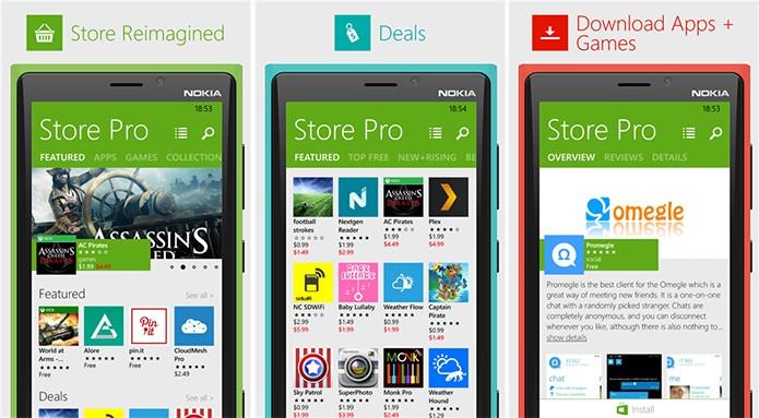 Store Pro é uma loja alternativa de aplicativos e jogos para Windows Phone (Foto: Divulgação/Windows Phone Store)