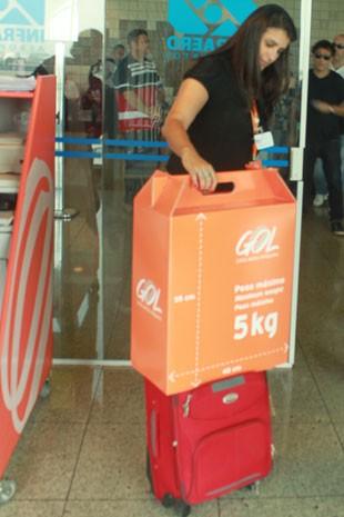 Resultado de imagem para gol linhas aereas bagagens