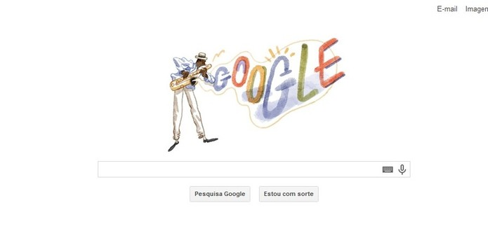 Doodle do Google homenageia o grande mestre do choro Pixinguinha (Foto: Reprodução)
