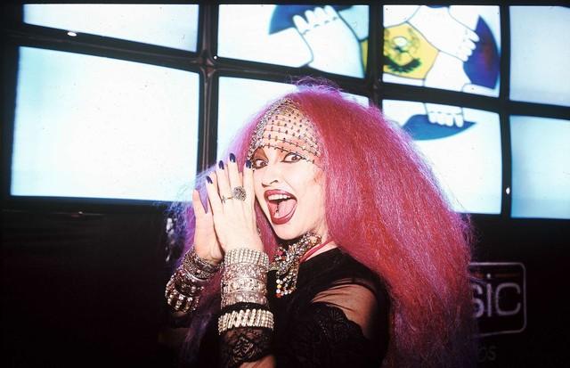 Elke com seu visual dos anos 2000  (Foto: Corbis)