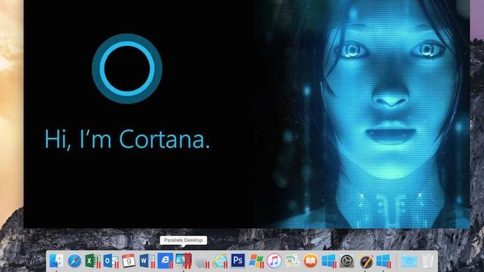 Parallels 11 permite executar a Cortana do Windows 10 no desktop do Mac (Foto: Divulgação/Parallels)