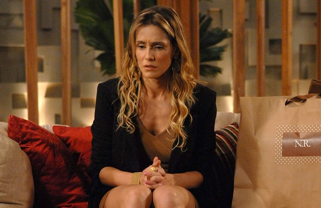 Louríssima, como Natalie, na novela 'Insensato coração', de 2011 (FOTO: Alex Carvalho/TV Globo)