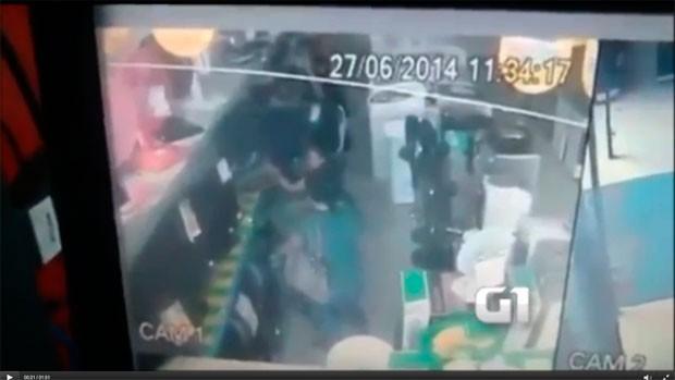 Mulheres furtam aparelhos de TV em loja na Grande Natal; veja vídeo (Foto: Divulgação/Polícia Civil do RN)
