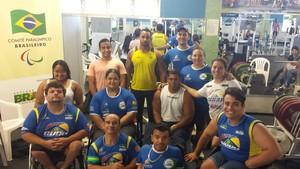 Equipe de Halterofilismo de Uberlândia (Foto: CDDU/Divulgação)