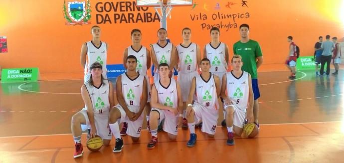 3e6c96c9d3 Basquete masculino da Funlec nos Jogos Escolares da Juventude (Foto   Divulgação Fundesporte)