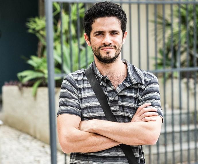 Vinícius de Oliveira grava participação em 'A Regra do Jogo' (Foto: Felipe Monteiro / Gshow)